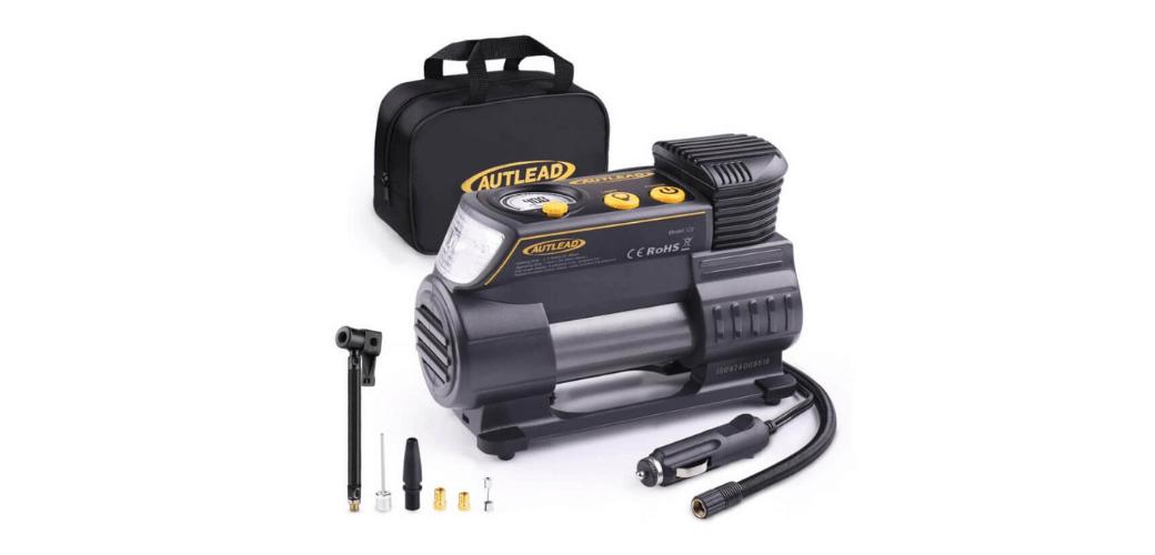 Autlead C2 12V DC Portable Air Compressor Best Mini Air Compressor