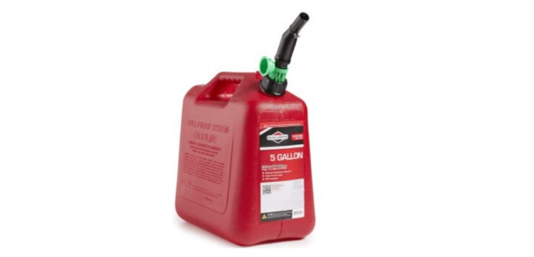 Briggs & Stratton 85053 gas can