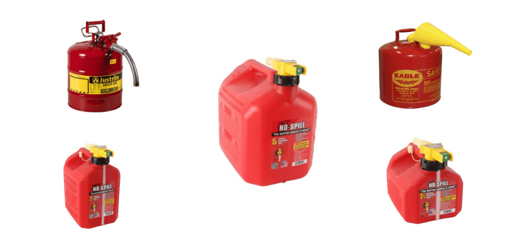 Best Gas Can Reviews Buyer Guide
